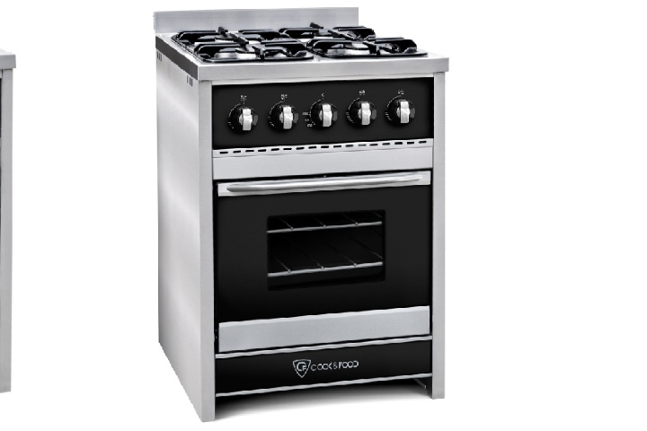 Cocina Chiara 60 Negra