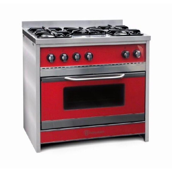 Cocina Chiara 90 Roja