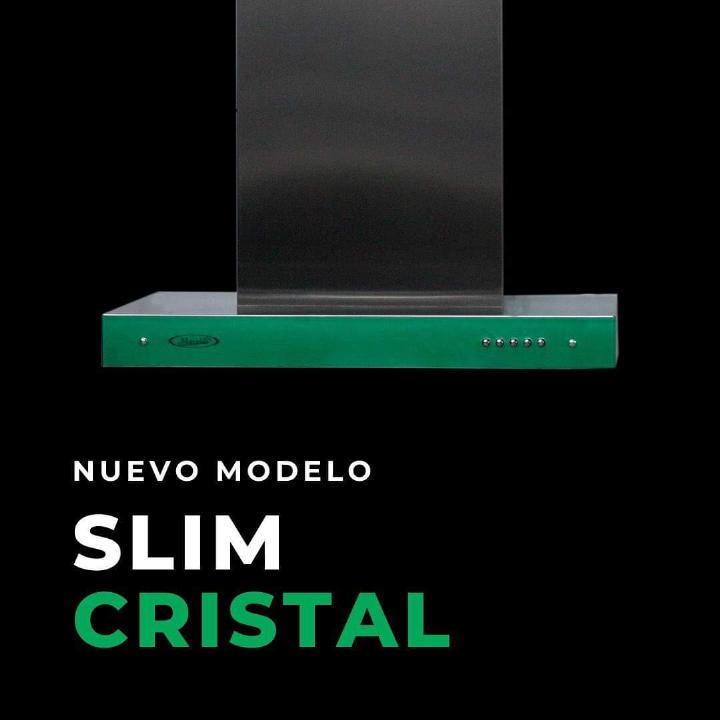 Campana Slim Cristal Verde