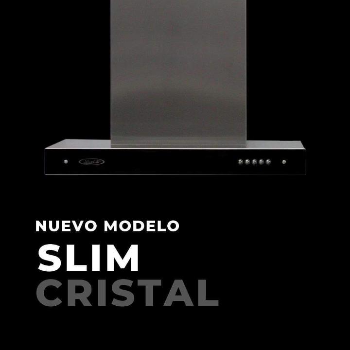 Campana Slim Cristal Negro