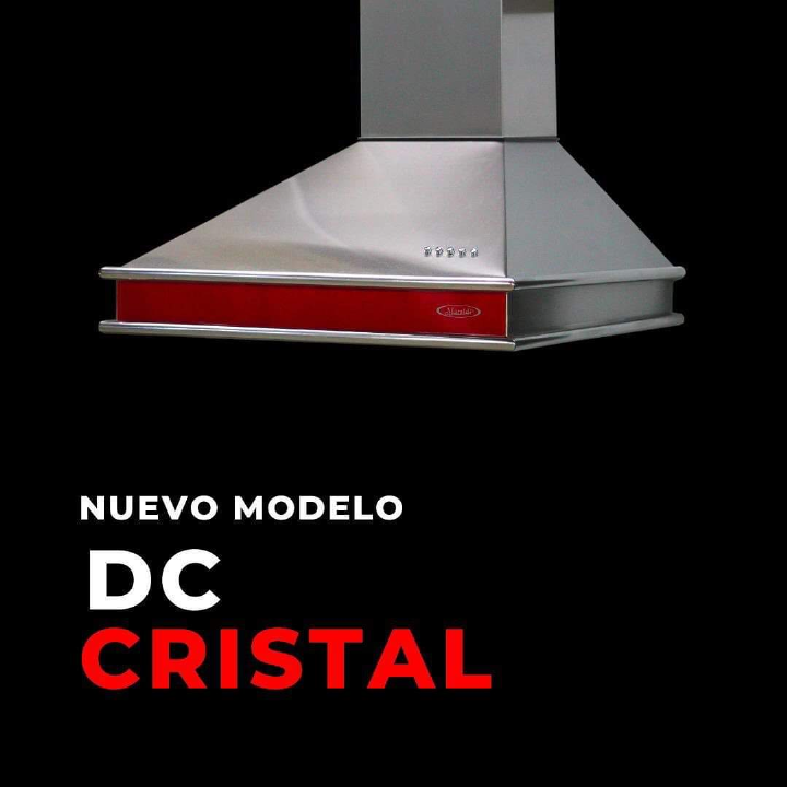 Campana DC Cristal Rojo