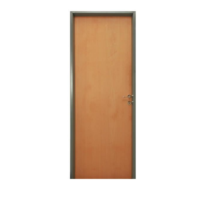 PUERTA PLACA STAND MARCO CH.18 HOJA CED LISO 0.70×2.00 T.15