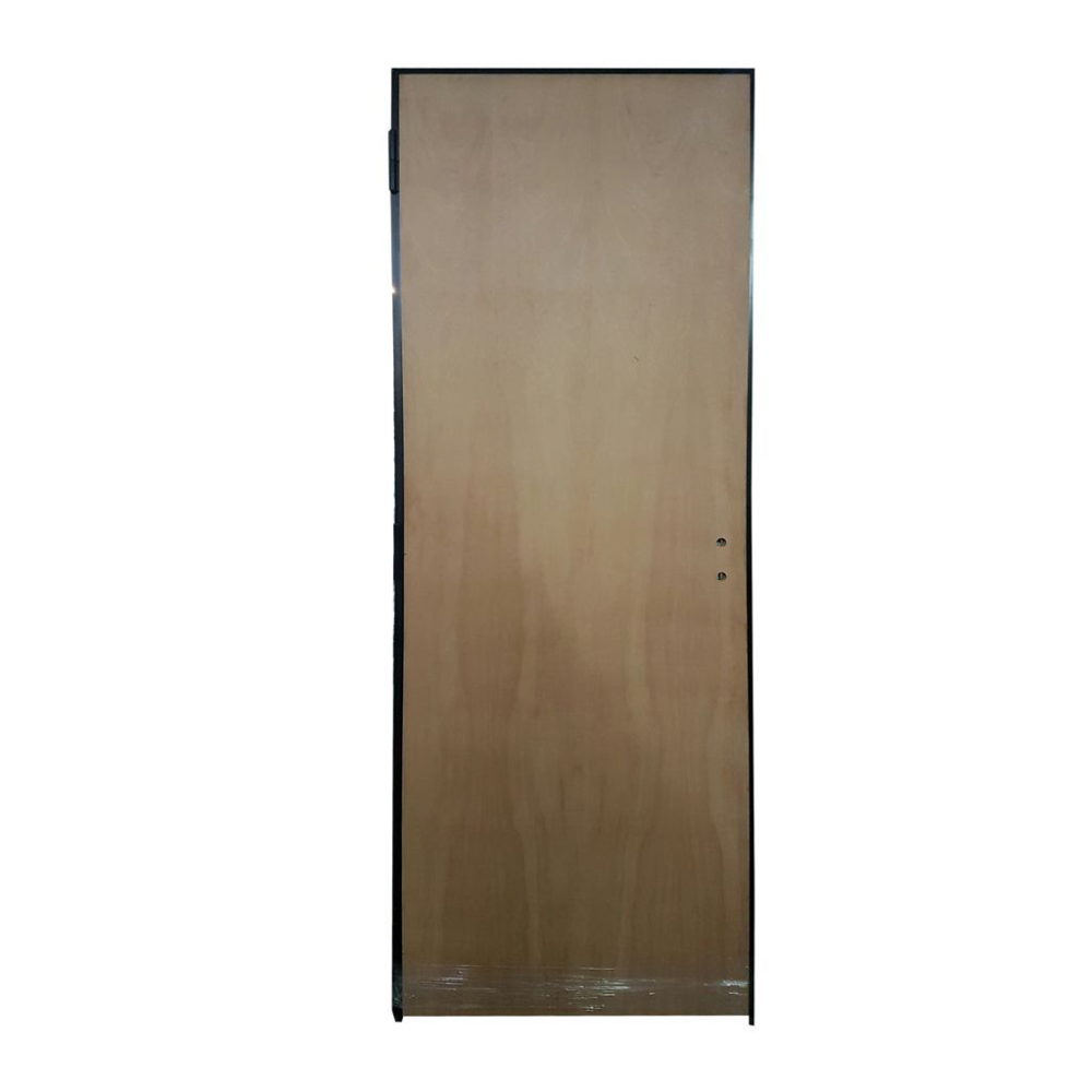 PUERTA PLACA STAND MARCO CH.18 HOJA PINO LISO 0.60×2.00 T.15