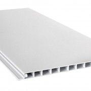 PLACA REVEST PVC BLANCO LISO 200X10X6 MTS. (PRECIOXM2)